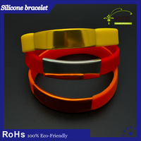 Velcro wrist bands manufacturing Event wrist bands/Silicon rubber Wristbands