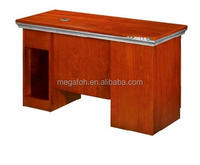 Cherry wood school furniture computer desk made in china(FOHK-1207)