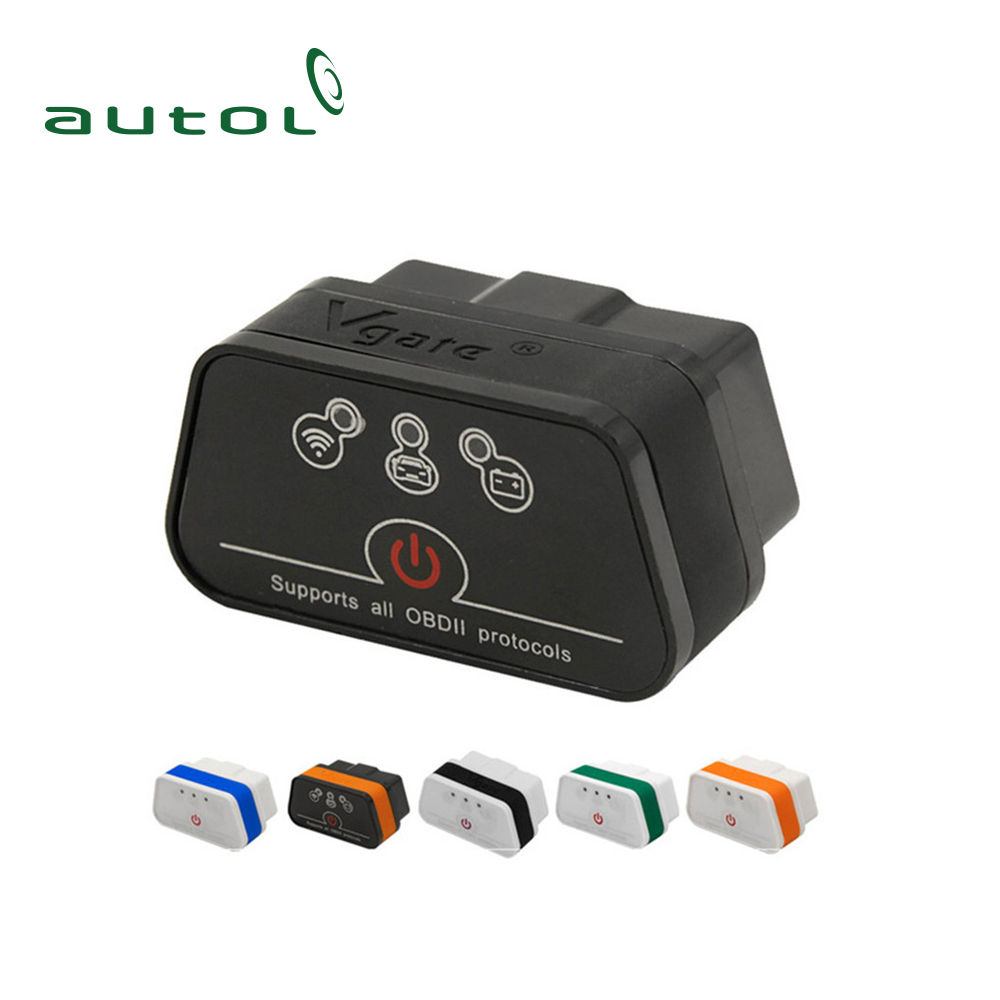 Original VGATE ELM327 WIFI iCar 2 Wifi OBD OBD2 Diagnostic Scanner ELM 327 iCar2 WIFI VGATE Support for iPhone /Android/PC