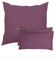 Polyester Fabric Microfiber plain dyed pillow case