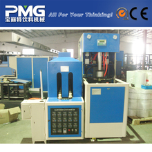 semi-automatic plastic injection stretch blow molding machine