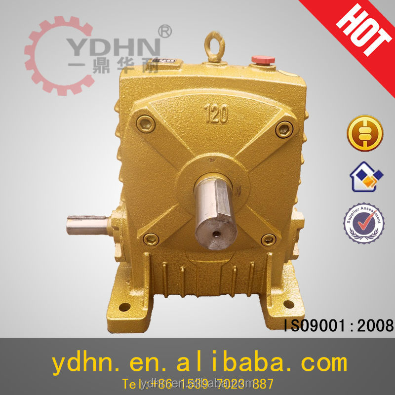 WPA(FCA) marine gearbox Worm gear reducer worm gearbox speed reducer