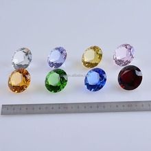 40MM Crystal Fake Stone Paperweight Diamond For Decoration