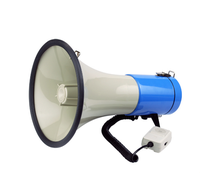 25w ABS Housing Sound Coverage 500mts police siren megaphone for car With Talk/Siren