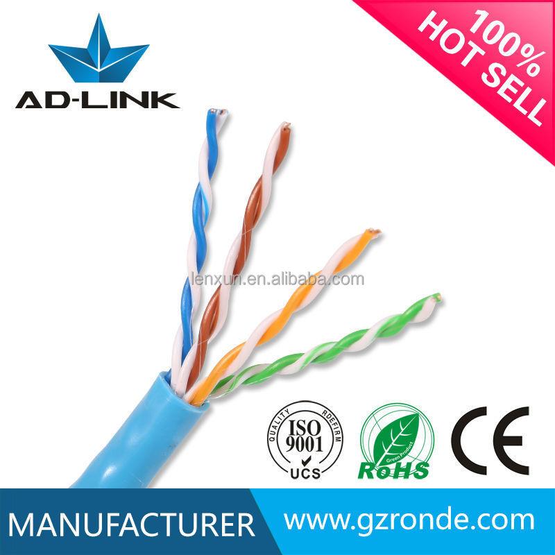 Recycle or new pvc cat5e cable, internet cat5e lan cable