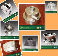 silica sol precision casting auto parts with CNC machining