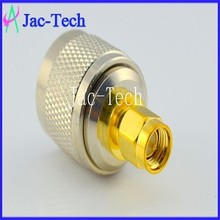 RF connector adapter N male to RP-SMA male cable coaxial connector