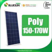 Bluesun high efficiency 18v 170w solar panel poly photovoltaic module