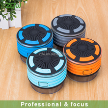 High quality 5w stereo hands-free portable waterproof mini bluetooth speaker with suction cup