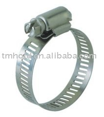 Mini america type stainless steel worm drive hose clamp with bandwidth 8mm