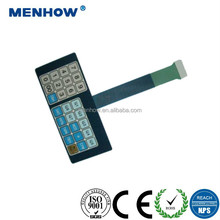 high quality waterproof capacitive membrane tactile keypad switches