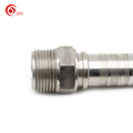 hot-sale new one piece straight sae flange instrumentation hydraulic hose fittings