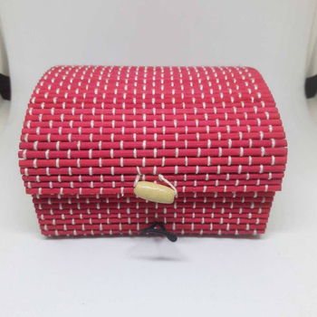 chinese hot sale gift bamboo box special factory hand making gift colored box