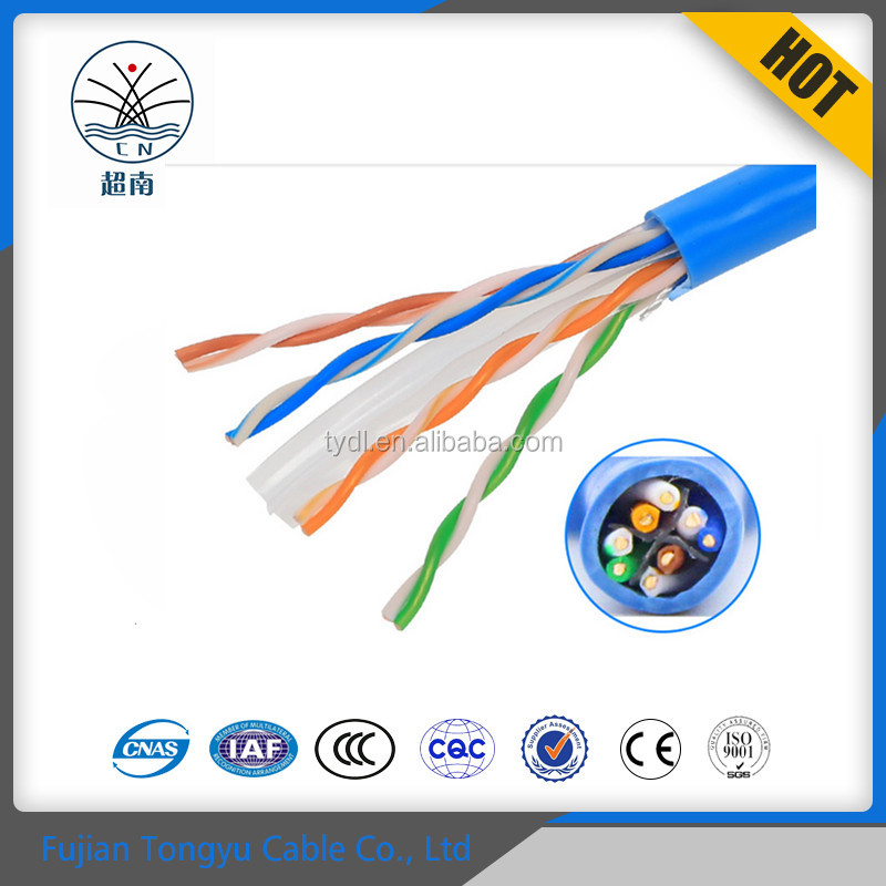Amazon best selling high speed 305m pull box Cat5e Cat6 networking ethernet Cable for data transmission