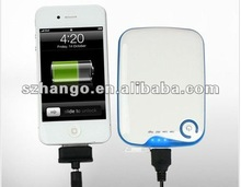 2012 Large Capacity 5000mAh external battery charger with USB output