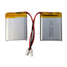 JOY 703442 3.7V 1100mAh rechargeable lithium ion polymer battery pack with PCM