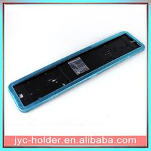 love shopping chrome zinc license plate frame ,H0T016 plastic license holder , car license plate frame customised metal