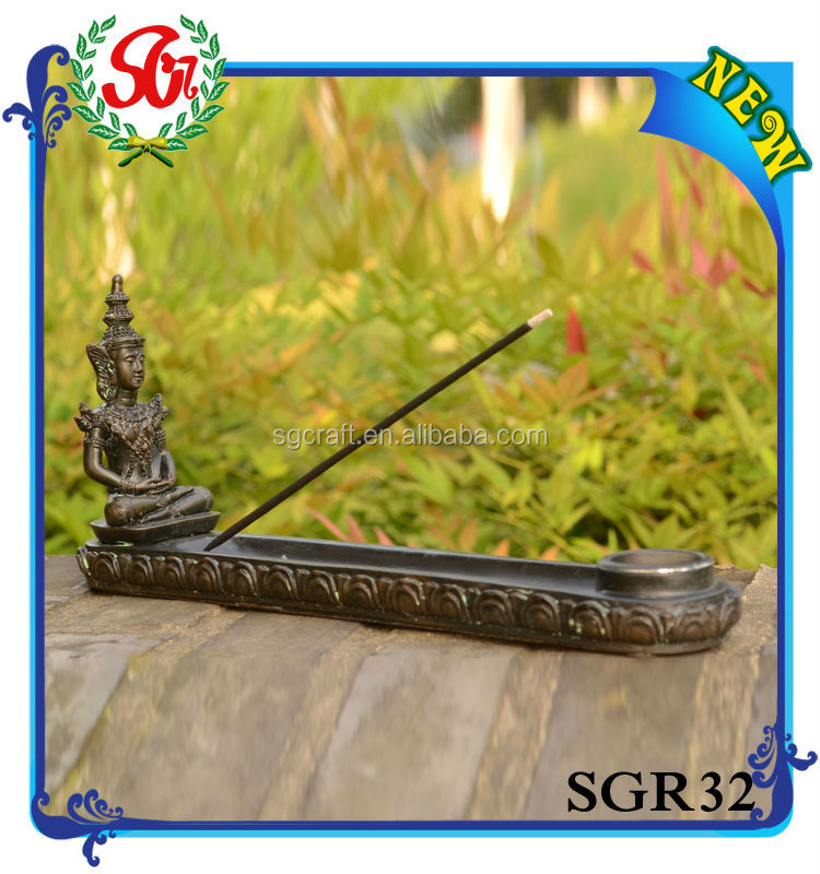 SGR32 Antique Figurine Copper Wholesale Incense Burner