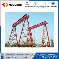 Electric Double Beam Gantry Crane Parts for Project