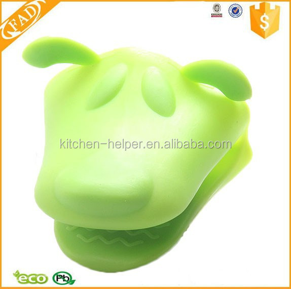 Fashion Custom Heat Proof Dog Shape Silicone Finger Tip