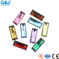 Guojie brand wholesale customized size rectangle boutique beautiful color acrylic stone