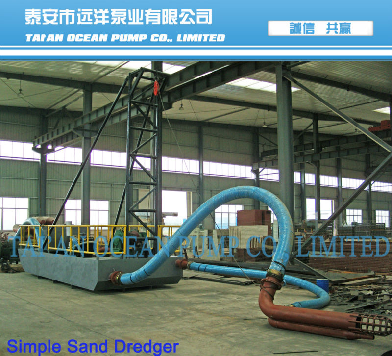 self propelled sand barges for sale