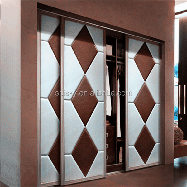 SCISKY Leather Covering for the Wardrobe Door Newly R&D Home Furniture Materials Sliding Door Decor Leather