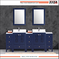 Frost Tempered glass top bathroom vanity T9315-84B