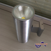 COB LED built in industrial wall lamp, Silver wall lamp, 30W oil coating wall lamp