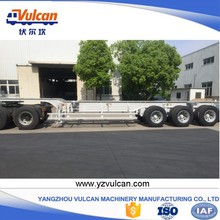 Manufacturer sale 20ft container skeleton semi trailer chassis