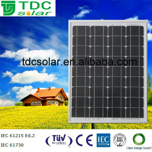 Monocrystalline solar panel 60W solar panels in dubai