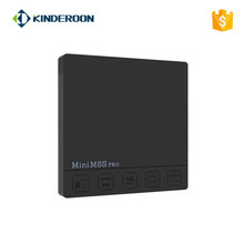 2018 Cheapest S912 Android Tv Box HD Mini M8S Pro Android 7.1 4k Octa Core Free movie Tv Box