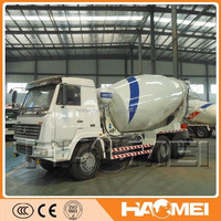 used concrete mixer truck with pump