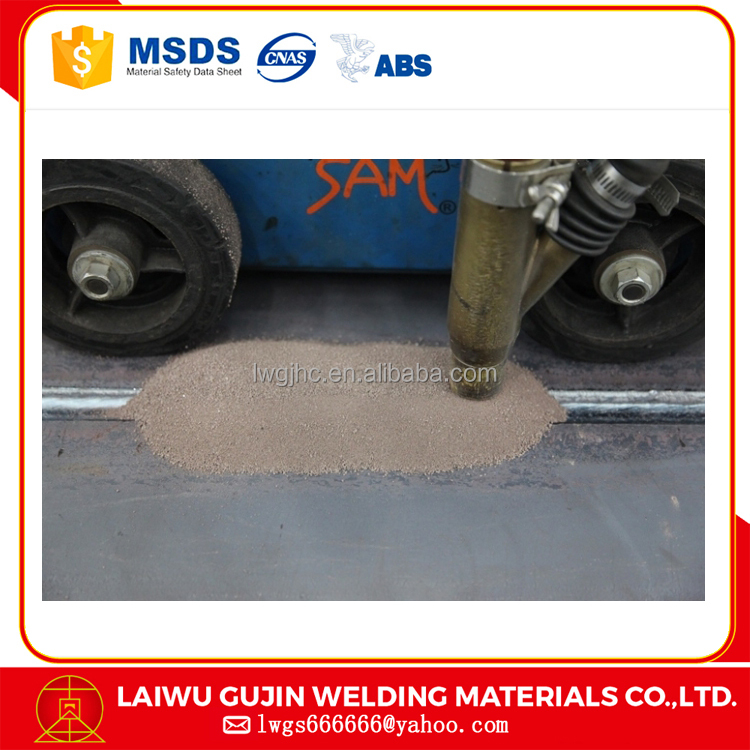 bauxite saw flux/high speed welding flux/China best quality welding materials sj501