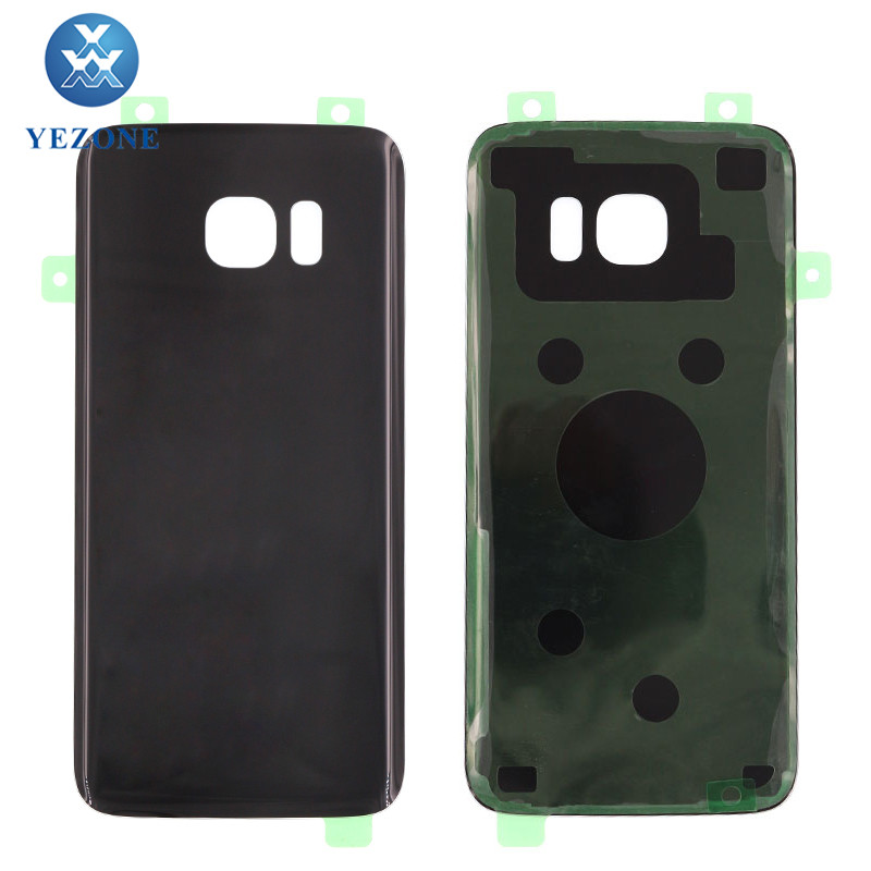 Wholesale Battery Back Cover Door For Samsung Galaxy S7 Edge Black