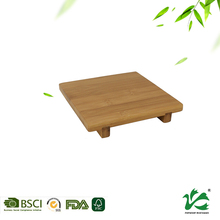China tea cup hot pot tea bamboo wooden material coaster