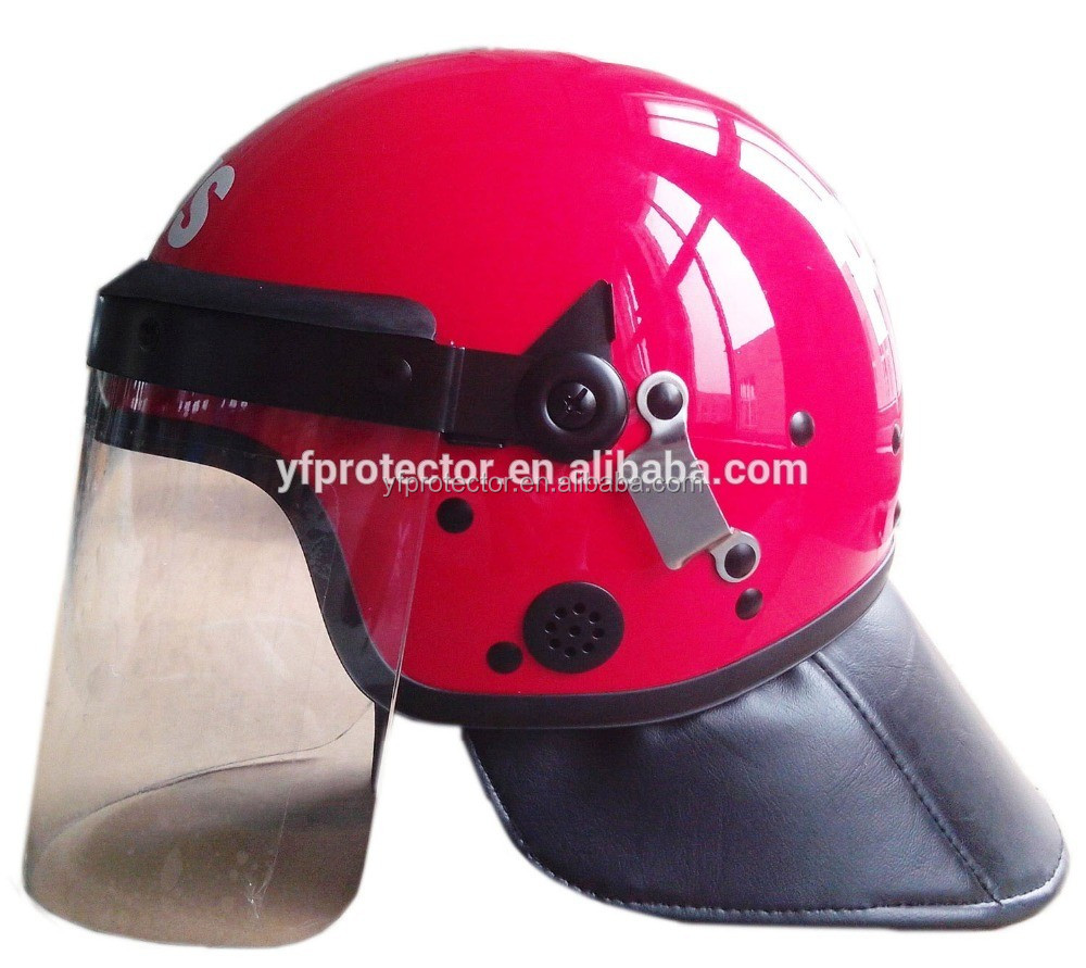 Riot Control Police&military helmet manufactures/Anti riot helmet with visor
