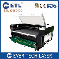 CO2 Laser Machine Laser Cut Lace Fabric Cloth Textile 1600mm*1000mm