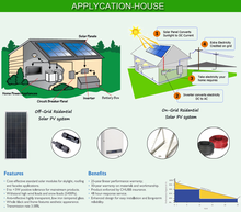 High performance stand alone 1kw 2kw 4kw 5kw pv 3kw solar system