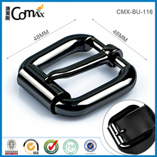 Custom flat metal logo belt buckle wholesale in Guangdong