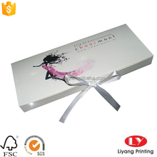 customized plain printed Packaging Box for Hair Extension product