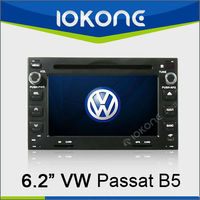 Touch screen dashboard Car DVD player for VolksWagen Passat B5 with GPS navigation