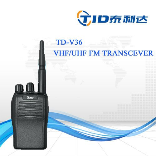 TD-V36 Professional uhf/vhf portable walkie talkie brondi