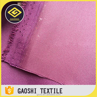 Wholesale Pu Coated 600D Polyester Waterproof Oxford Fabric For Home Textile