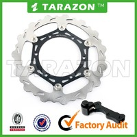 270mm Oversize Light Weight Wave Brake Disc Disk Rotor With Bracket For Yamaha YZ125 YZ250