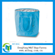 2017 Promotional foldable waterproof insulated cooler tote bag