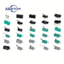 2 Pins 3 Pin mini Push Button Micro Switch t125 t85 5e4 hot sale micro limit switch cherry micro switch