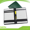 Golf Scorecard Holder with Pencil Genuine Leather Card Holder