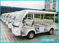 cheapest LQY081AN 8seaters electric tourist coach Shuttle Bus