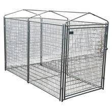 Alibaba China 10x10x6 foot classic galvanized outdoor dog kennel